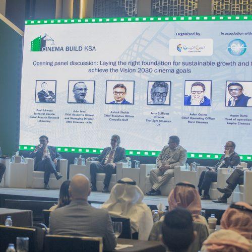 Cinema Build KSA 2020